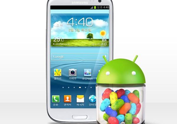 Samsung Galaxy S III Jelly Bean update arrives in Korea