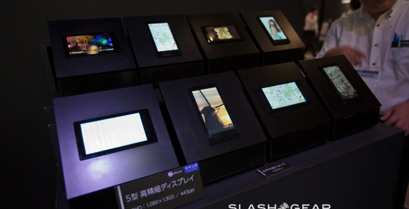 Sharp 5-inch 1080p display eyes-on: You want this in your next phone