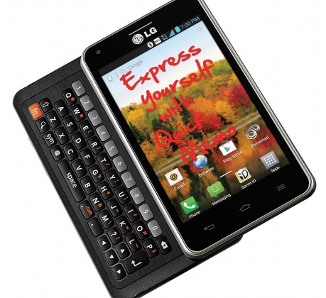 LG Mach LTE QWERTY slider shows itself for real