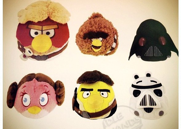 star wars angry birds plush 1