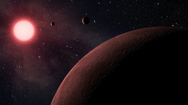 Kepler Space Telescope discovers the most tightly packed exoplanet system ever