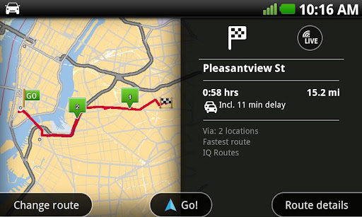 TomTom Navigation for Android released (with a compatibility catch)
