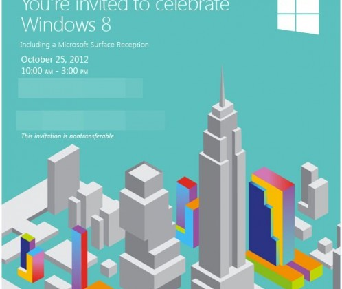 Microsoft live streaming Windows 8 event keynote