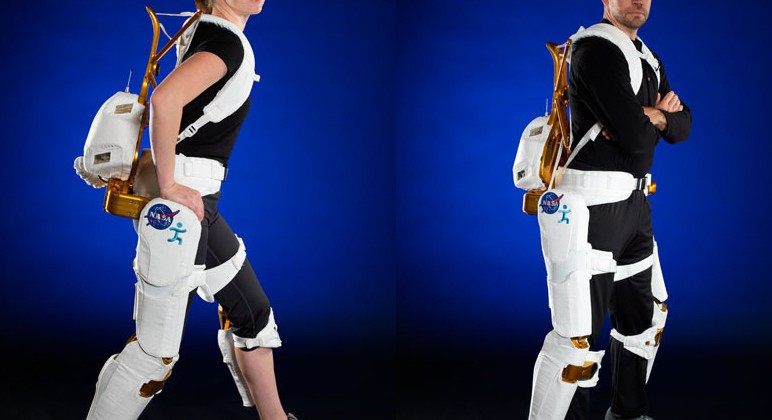NASA X1 Exoskeleton keep astronauts fit and could help disabled walk
