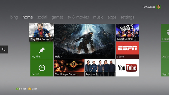 Xbox 360 dashboard update rolling out today