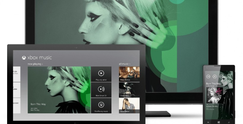 Microsoft Xbox Music takes on Spotify and iTunes Cloud