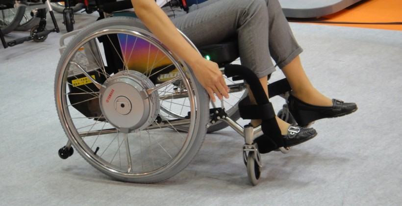 Yamaha makes powered wheelchairs more affordable with new power assist unit