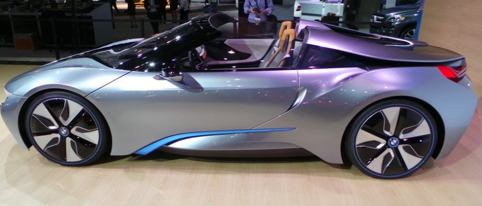 BMW i8 Spyder Concept eyes-on at LA Auto Show