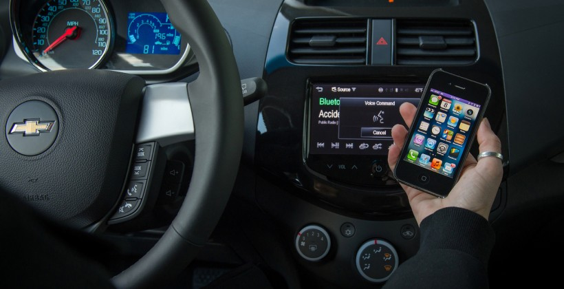 Chevrolet adds Siri to 2013 Spark; Previews next-gen MyLink