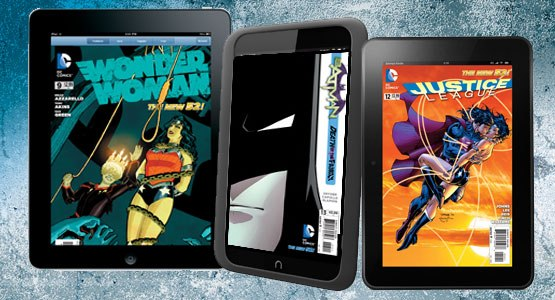 DC digital comic books now available for iOS, Kindle, and NOOK devices