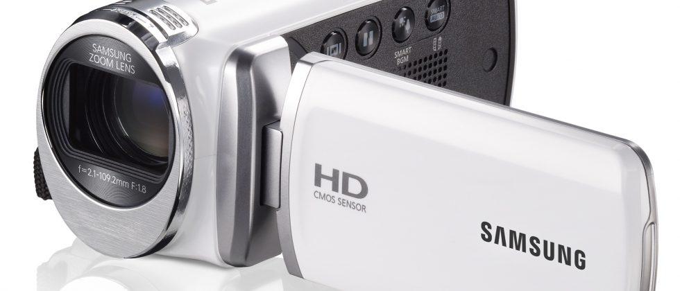 Samsung HMX-F90 camcorder forgets convergence and 1080p