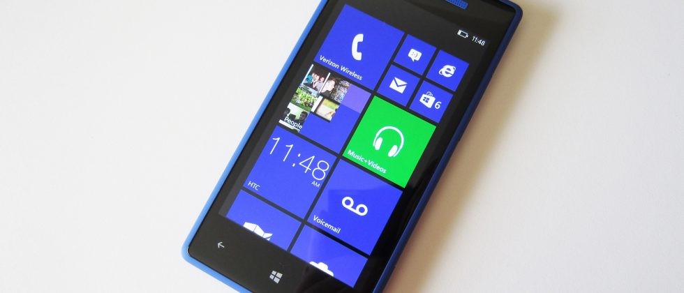 Verizon HTC Windows Phone 8X Review