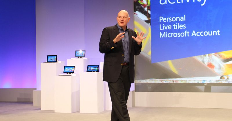 Microsoft's Steve Ballmer talks Android and Apple