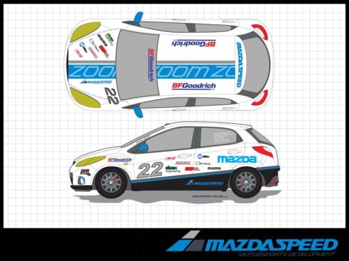 Mazda2 B-Spec racecar unveiled