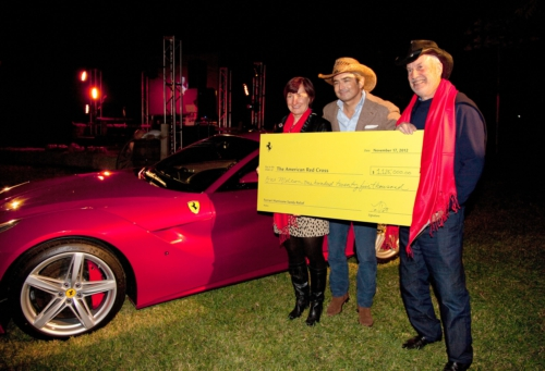 Ferrari F12berlinetta auction raises $1.5 million