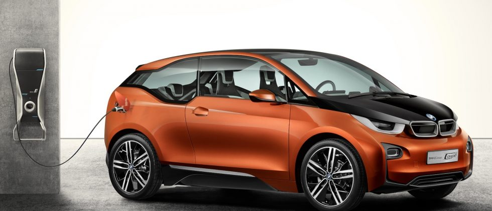 BMW i3 Concept Coupe ditches steel for intelligent EV