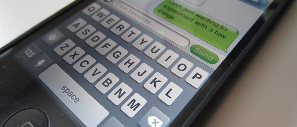 Text messaging on decline for first time ever