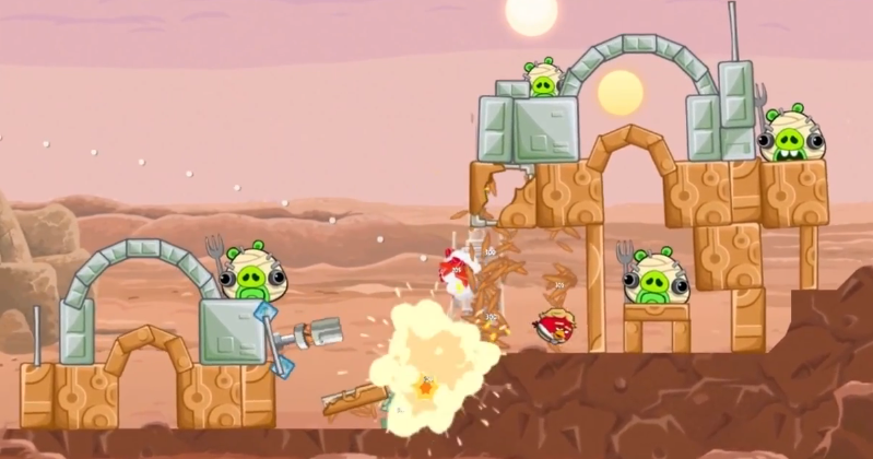 """Rovio launches """"official gameplay trailer"""" for Angry Birds Star Wars"""