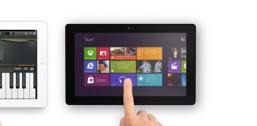 Microsoft Surface parody ad takes on the iPad