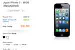 AT&T offering iPhone 5 refurbished starting at $99