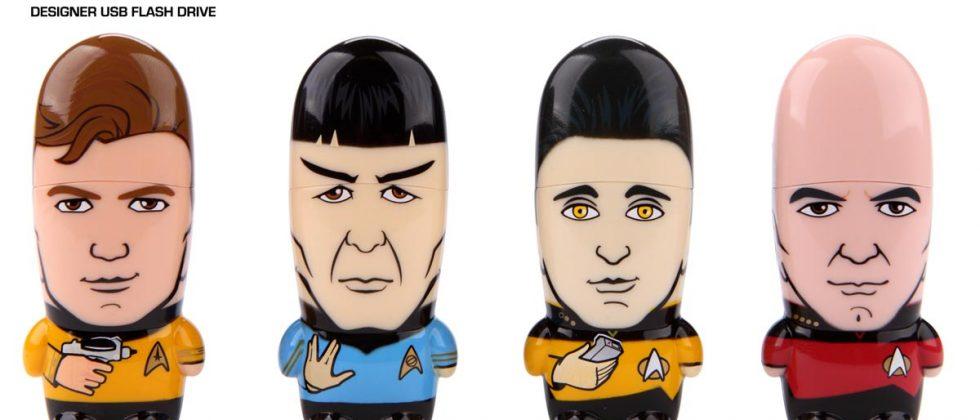 Mimoco unveils Star Trek X Mimobot flash drives