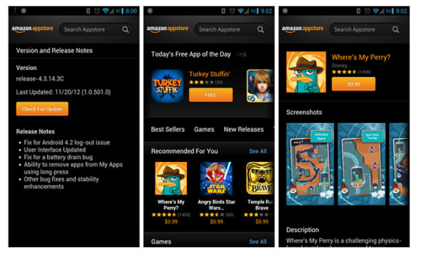 Amazon Appstore updates with new UI and bugfixes - SlashGear