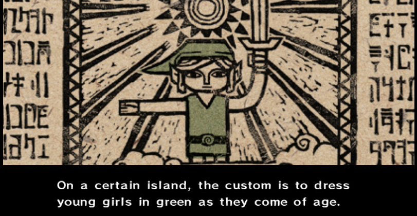 Zelda trades places with Link via Greatest Dad Ever