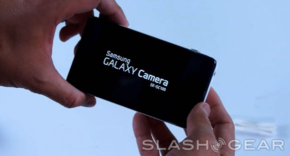 Samsung Galaxy Camera hands-on and unboxing