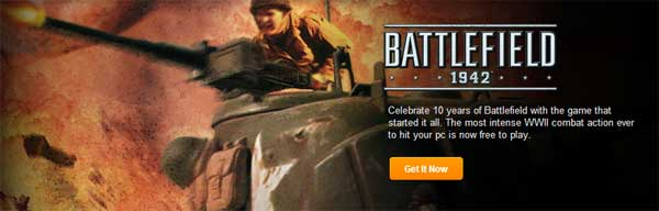EA & DICE celebrate 10 years of Battlefield with free download of Battlefield 1942