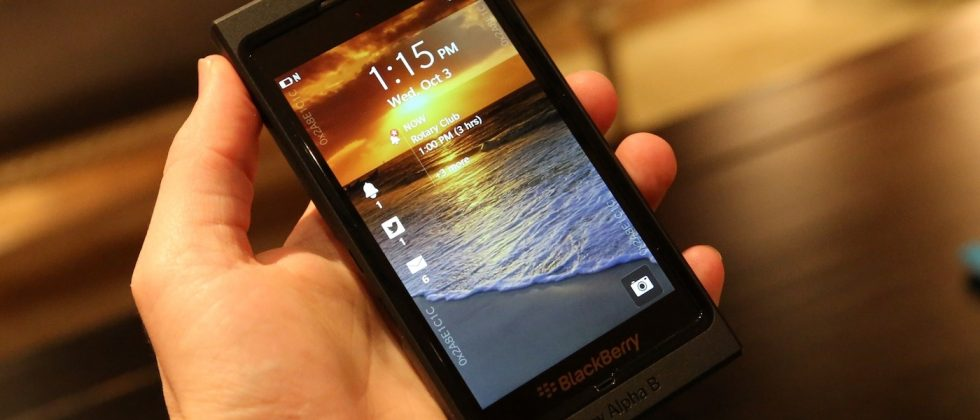 "BlackBerry 10 sales ""not too long after"" January reveal insists COO"
