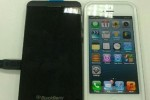 BlackBerry L-Series caught cavorting with iPhone 5