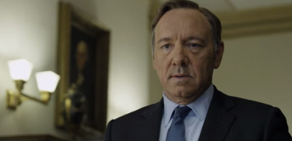 Netflix offers its first trailer for House of Cards