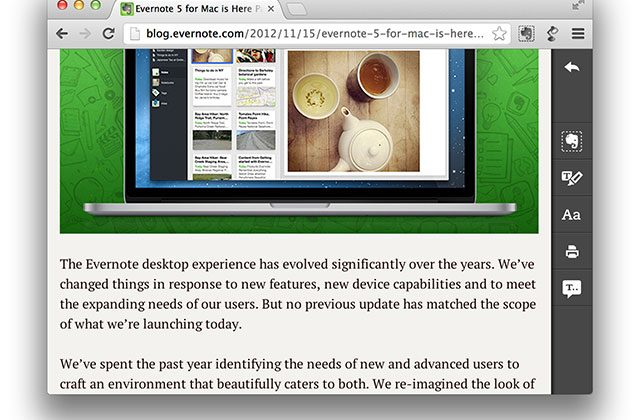 Evernote Clearly adds text-to-speech for Premium members