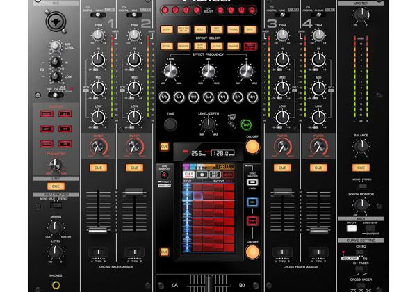 Pioneer Electronics unveils new DJM-2000nexus DJ mixer