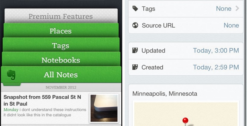 Evernote 5 for iOS Review