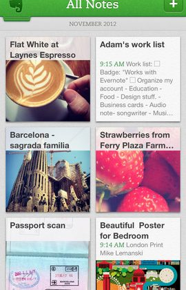 Evernote 5.0 for iOS: Slicker UI, faster note-taking