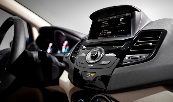 2014 Ford Fiesta to come equipped with MyFord Touch