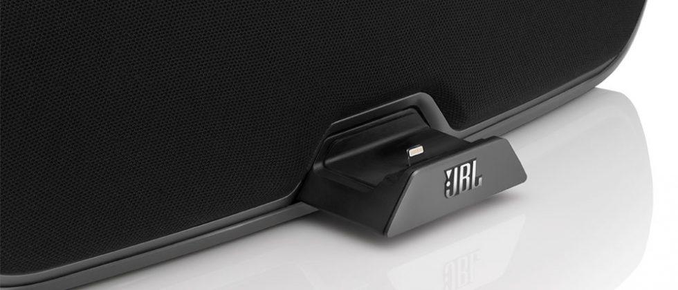 JBL speaker docks go Lightning for iPhone 5 and iPad mini