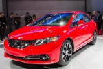 Honda unveils updated 2013 Civic in LA