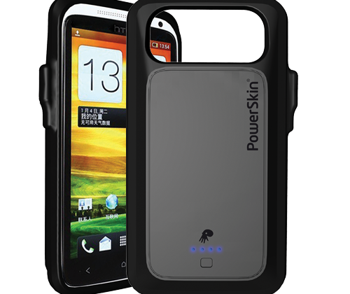 Powerskin launches NFC cases for One X+, Galaxy Express, Windows Phone 8X