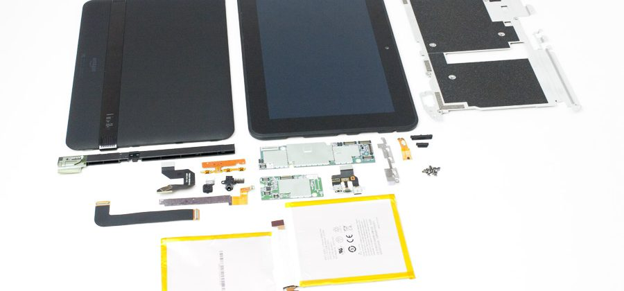 Amazon Kindle Fire HD 8.9 teardown shows Samsung innards