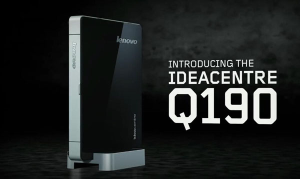 Lenovo unveils IdeaCentre Q190 and new C-Series all-in-one PCs
