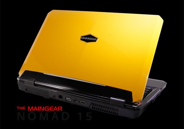 Maingear Nomad 15 gaming laptop aims for mobile gamers