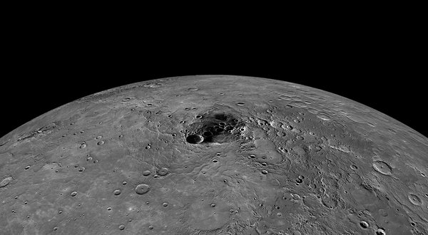 NASA finds over 100 billion tons of ice on Mercury