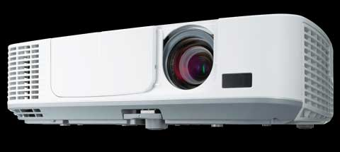 NEC announces new portable M series projectors