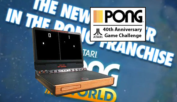 Atari rings in 40 years of Pong with free iOS game and custom Xbox 360 with LCD