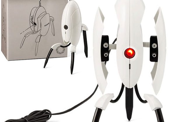 Portal 2 sentry turret protects your desk