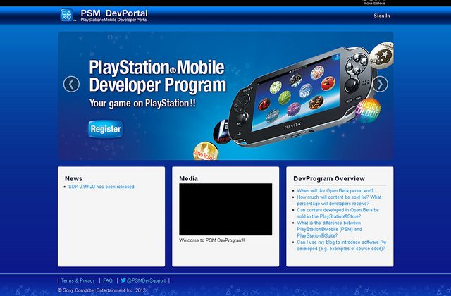 Sony announces PlayStation Mobile Developer Program