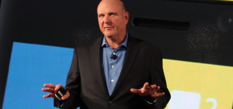 "Ballmer: Windows Phone sales ""four times"" greater than Autumn 2011"