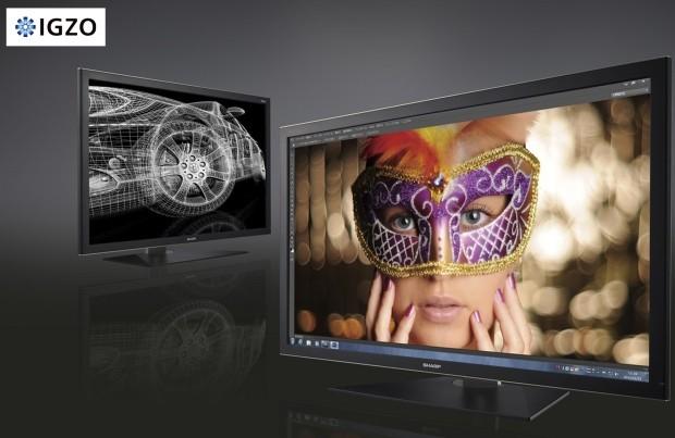 Sharp unveils IGZO 32-inch 4K display